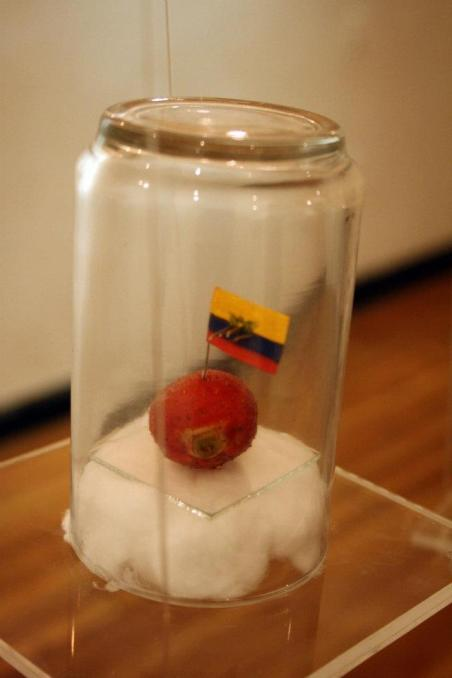 oleo sobre frutilla